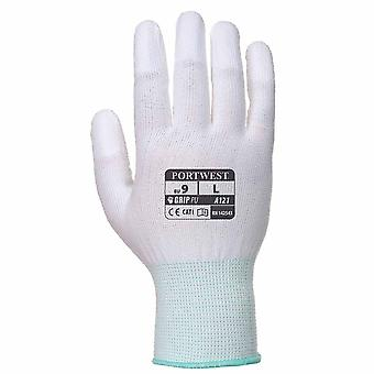 PORTWEST - PU dito guanto massima resistenza all'abrasione (confezione da 6 paia)