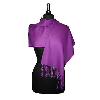 Biagio 100% Шерсть Пашмина Твердый шарф женщин Shawl Wrap