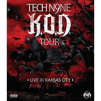 Tech N9NE - K.O.D. Tour: Live in Kansas City [BLU-RAY] USA import
