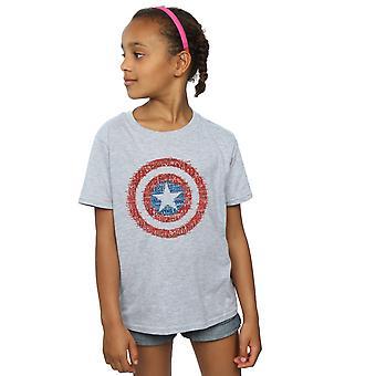 الفتيات الأعجوبة المنتقمون كابتن أمريكا 75 جندي سوبر تي شيرت