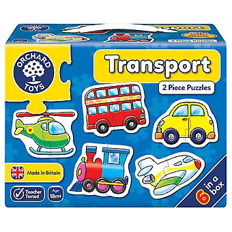 Orchard Transport 2pc Puzzles