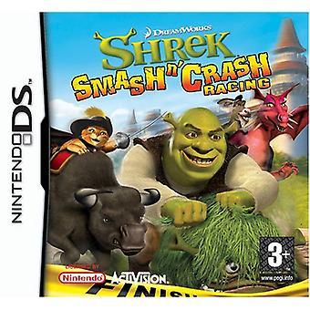 Shrek smash N krasch Racing (Nintendo DS)-nytt