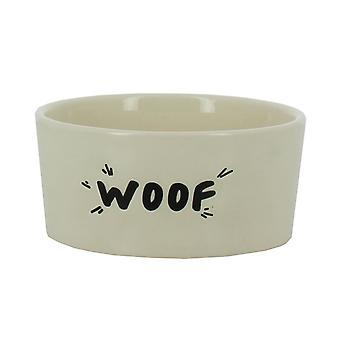 'Woof' Design gres porcellanato Dog Bowl