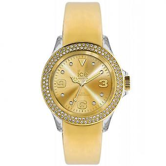 Unisex steen gouden horloge ST. GG. U.L.10