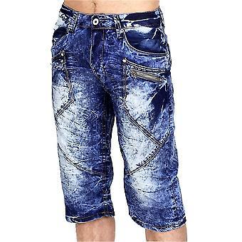 Moda hombres Capri Jeans Bermudas Cargo Shorts Vintage shorts Chino
