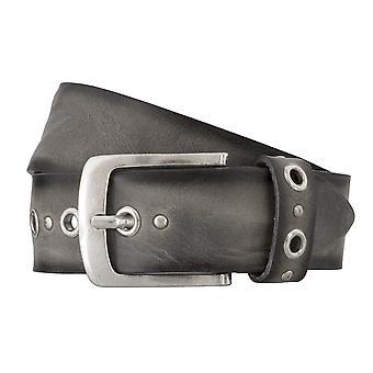 BERND GÖTZ belts men's belts leather belt walking leather grey 4835