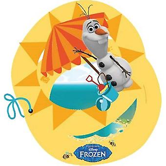 Uitnodiging uitnodigingen dat OLAF Frozenparty kinderen verjaardagsuitnodiging kaart 6