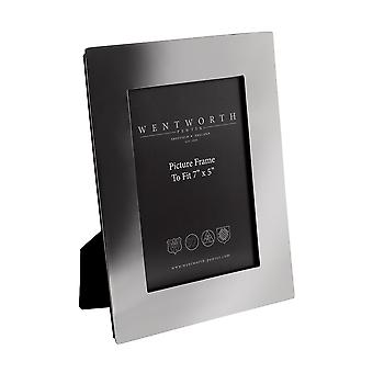 """Plain Pewter 7"""" X 5"""" Picture Frame"""