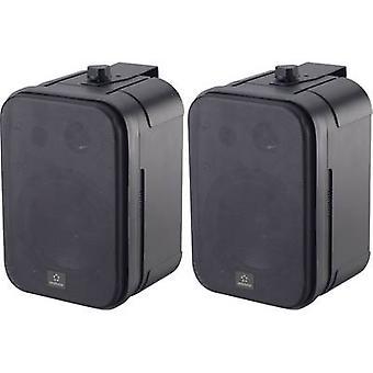 Renkforce Control 250 Outdoor speaker 30 W IP54 Black 1 Pair