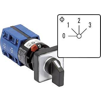 Kraus & Naimer CG4 A261-600 FS2 Uniselector 10 a 3 x 60 ° grå, svart 1 eller flere PCer