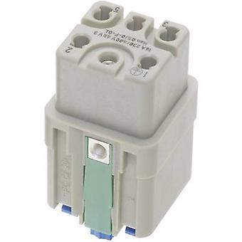 Harting 09 12 005 2733 socket inzet Han® Q 5 + PE Han Quick-Lock® 1 PC (s)