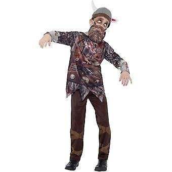 Kinder Kostüme Halloween Zombie Kostüm Wikinger