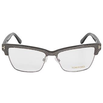 Tom Ford FT5364 20 Butterfly | Silver/Brown| Eyeglass Frames