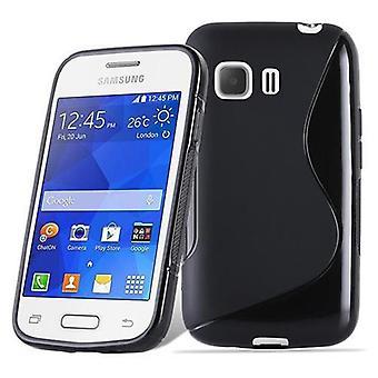 Cadorabo kotelo Samsung Galaxy nuori kotelo Cover-joustava TPU silikoni kotelo erittäin ohut pehmeä takakannen kotelo puskuri