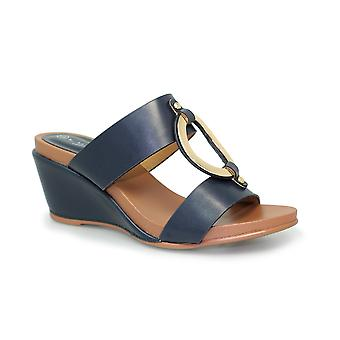 Lunar Loren Slip On Wedge Sandal CLEARANCE