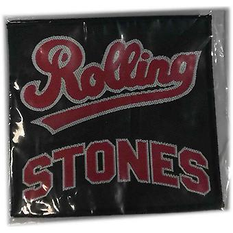 The Rolling Stones Patch Team Band Logo new Official 10 cm x 10 cm