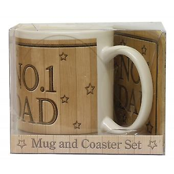 JOE DAVIES Mug Set 61002 C No 1 Dad