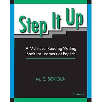 英語学習のステップ アップ - A 連鎖読書習字帳