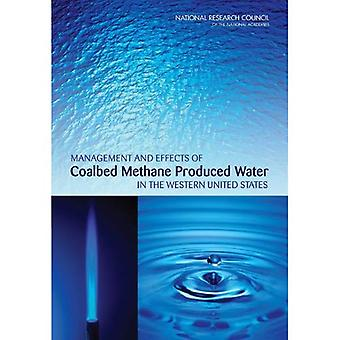 Gestione e gli effetti di Coalbed metano prodotto acqua negli Stati Uniti occidentali