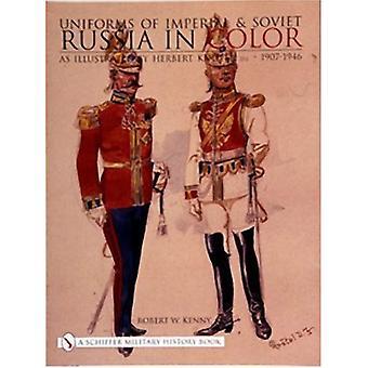 Uniformes de la Russie impériale & soviétique en couleur: au fil de la Tunisie, la Sicile et l'Italie pendant la seconde guerre mondiale