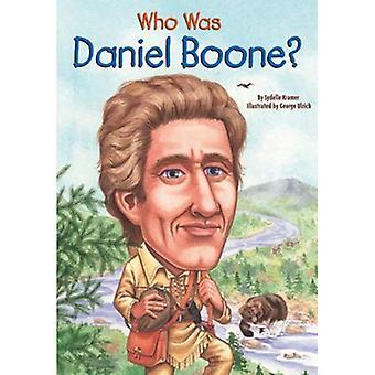 Qui était Daniel Boone?
