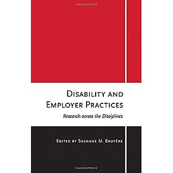 Disability and Employer Practices: Research Across the Disciplines