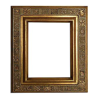 20x25 cm or 8x10 inch, photo frame in gold