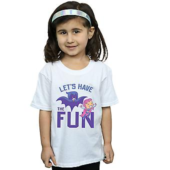 DC Comics Girls Teen Titans Go Let's Have The Fun T-Shirt