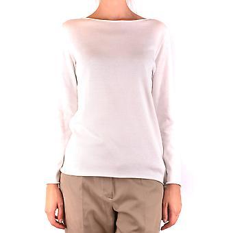 Fabiana Filippi Ezbc055026 Women's Suéter de Algodão Branco