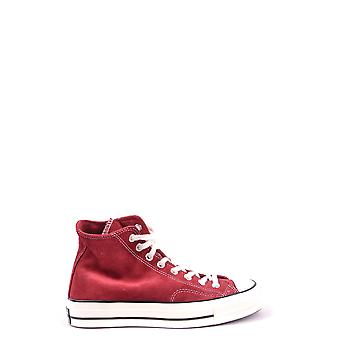 Converse Ezbc119011 Men's Burgundy Fabric Hi Top Sneakers