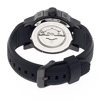 Reign Tudor Automatic Pro-Diver Watch w/Date - Black