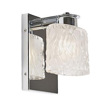 Elstead - 1 Light Wall Light - Polished Chrome Finish - QZ/SEAVIEW1 BATH