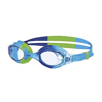 Zoggs Little Bondi Swimming Goggles - 0-6 Years -Blue/Green