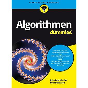 Algorithmen fur Dummies by John Paul Mueller - 9783527713813 Book