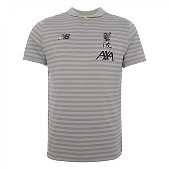 2019-2020 Liverpool Travel Polo shirt (grijs)