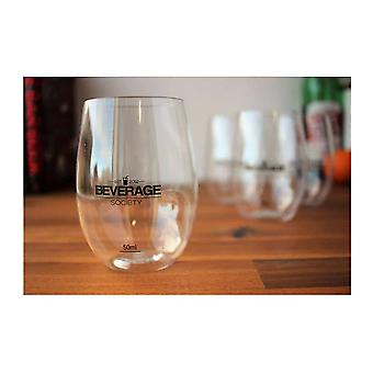 Eco-Friendly Reusable Wine Glasses Set Of 4