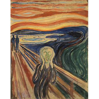Le Cri, Edvard Munch, 50x40cm