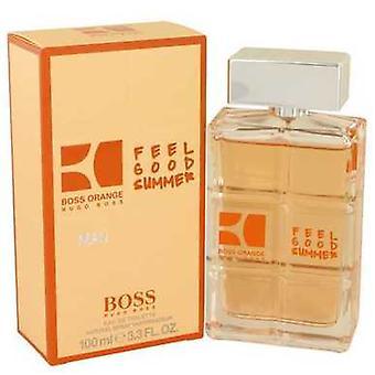 Boss Orange Feel Good Summer av Hugo Boss Eau de Toilette spray 3,3 oz (menn) V728-537207