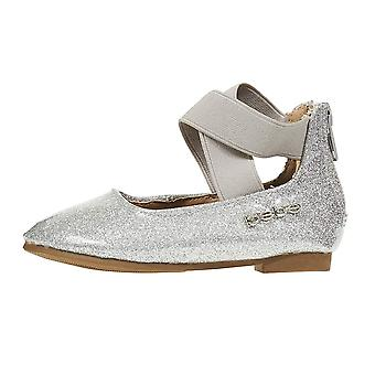 bebe Toddler Girls Ballet Flats Glitter Ankle Strap Mary Jane Sandals