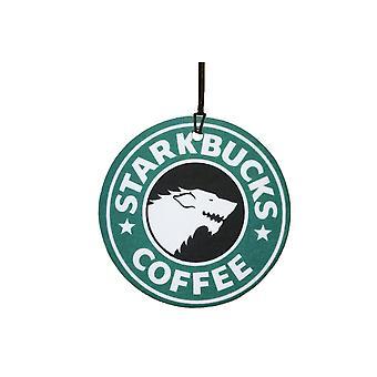 Starkbucks kaffe bil Air Freshener
