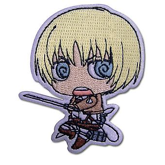 Patch - Attack on Titan - New SD Armin Iron-On Toys Anime Licensed ge44792