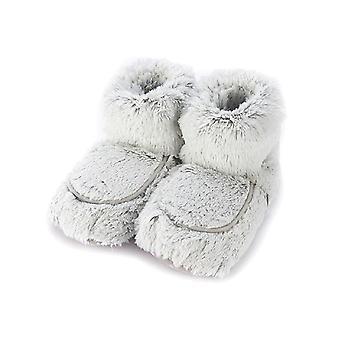 Warmies Microwavable Varme Op Soft Slipper Støvler Lavendel Duftende Støvletter UK Størrelse