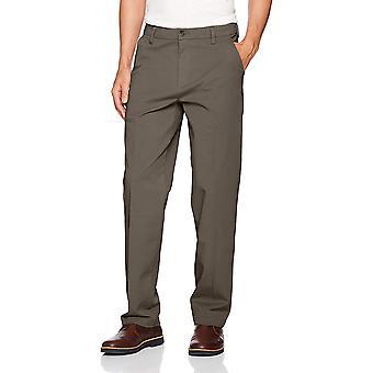 Dockers Men's Classic Fit Workday Khaki Smart 360 Flex, Grey, Size 34W x 36L