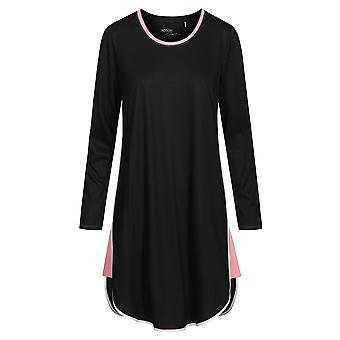 Rosch 1193736-10995 Femmes-apos;s Pure Black Cotton Nightdress
