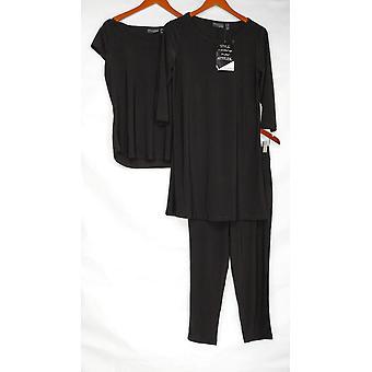 المواقف من قبل رينيه بيتيت مجموعة 3 قطعة خزانة الملابس المحارب الأسود A308329