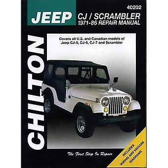 Jeep CJ/Scrambler 1971-86 Repair Manual (Total Car Care)