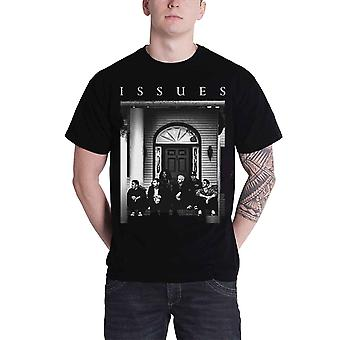 Issues T Shirt Door Band shot Band Logo Official Mens New Black T Shirt