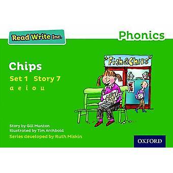 Lese skrive Inc. Phonics - satt Green 1 Storybook 7 sjetonger for Gill Munton