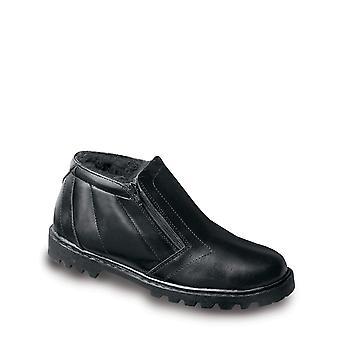 Chums Mens Toronto Lederen Warm Lined Twin Zip Boots