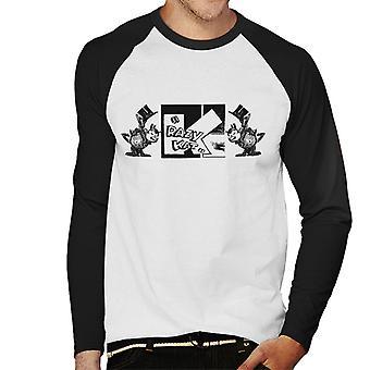 Krazy Kat Hats Off Men's Baseball Long Sleeved T-Shirt